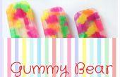 Cómo hacer paletas de oso Gummy