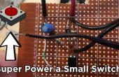 Momentáneo interruptor de conversión con este Simple circuito de enganche