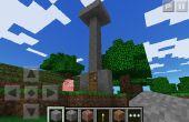 Como hacer un elevador falla en minecraft pe!