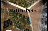 Estante del heno DIY para pequeños animales domésticos