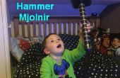 3D impreso Mjolnir - martillo de Thors Prop