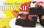 Cómo hacer Brownies de crema de queso
