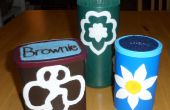 Daisy, Brownie y Girl Scout contenedores