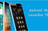 Hacer tema para Android Launcher