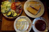 Hamburguesa vegana / mayonesa vegana