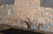 Casa mejora: Cómo instalar Metal mosaico azulejos de la pared (acero inoxidable, aluminio,...)