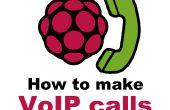 Cómo hacer llamadas de VoIP de frambuesa Pi