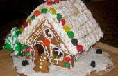 Casa de pan de jengibre poco