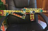 El Wolverine un Rifle de asalto K'nex + Video
