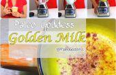 Diosa de paleo leche oro