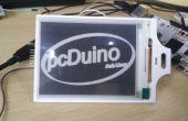 Escudo de papel electrónico en pcDuino