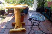 Proteger sus muebles de madera al aire libre
