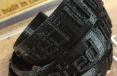 """Pulseras impresas 3D """"Imprimí esto"""" con levantado Letras"""