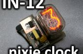 IN-12 nixie clock