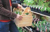 Caja de herramientas de bricolaje jardín