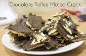 Caramelo chocolate Matzo Crack