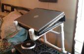Portátil de DJ de PVC y soporte de mezclador