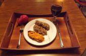 GLASEADO pastel de RICOTTA con tomate y BRANDY de cereza salvaje