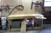 El Banco de madera intercambiables con energía eléctrica