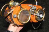 Steampunk gafas de laboratorio