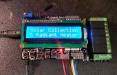 Colector solar y regulador de calor radiante