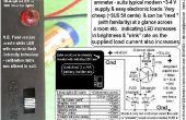 "Solo LED ""amperímetro"" - HUIDO basado."