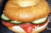 Sandwich de Bagel de tomate asesino