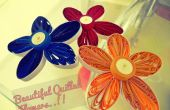 Flores Quilled hermoso y fácil!