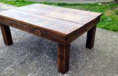 Hacer una mesa de madera reciclada de palets