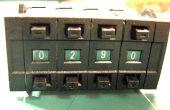 Cómo leer binario/hexadecimal rueda cambiar con un microcontrolador AVR