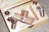 Mejorar una plantilla de taladro precisión lo contrario baja carpintería