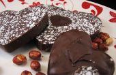 Corazones de cacahuete Chocolate picante