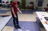 Dance Dance Revolution piso acolchado - Makey Makey