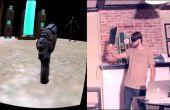 El proyecto de cartón Oculus: DIY Virtual realidad Gun con seguimiento utilizando Arduino y el ESP8266