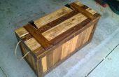 Tronco de falso fondo de madera recuperada (plataformas)