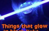 Cosas que brillan en la luz Black(UV)