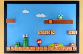 Tablero 3D Super Mario Papercraft Magnet
