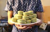 Macarons de té verde Matcha | Josh Pan