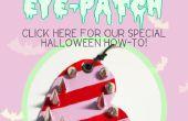 Cómo hacerlo de Halloween: crear su propio caramelo parche con un borde: 3