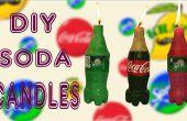 Hacer Mini Coca Cola y Sprite velas velas Soda DIY