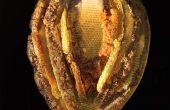 Mediante fusión a hacer esculturas de colaboración con las abejas