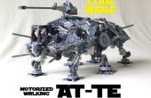 K'NEX motorizado a pie AT-TE de Star Wars