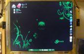 Monitor de LCD de Steampunk