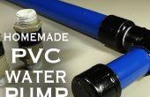 Cómo hacer un PVC de agua / aire / bomba de vacío!