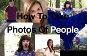 Cómo tomar fotos perfectas de personas.