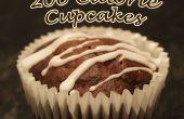 200 calorías Chocolate Cupcakes