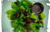 Aderezos de ensalada: Confitada nueces