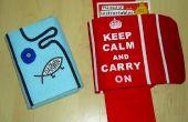 Una bolsa protectora para libros