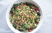 Feliz herbáceas sin gluten del grano ensalada