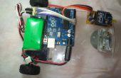 Inalámbrico de Robo-coche con motor de servo 360 °